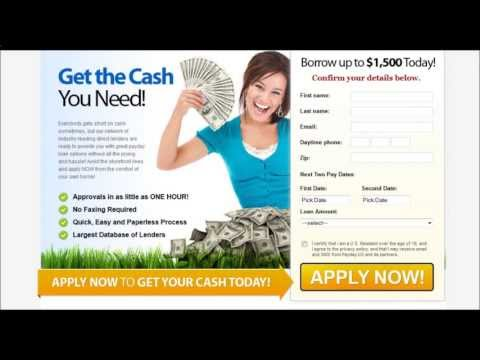 U.S. fast no fax payday loans