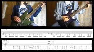 4) Rammstein - Du Riechst So Gut (Bass & Guitar lesson + TAB | Cover HD)