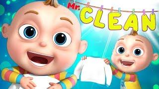 Çocuklar | Videogyan Çocuklar İçin Bluefox Zune Çocuk - Bay Temiz Bölüm | Çizgi Film Animasyon Gösterileri