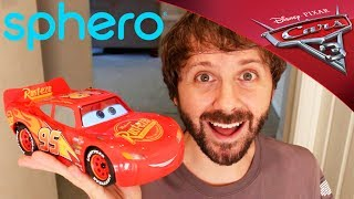 CARS 3 Sphero Ultimate Lightning McQueen UNBOXING and PLAY