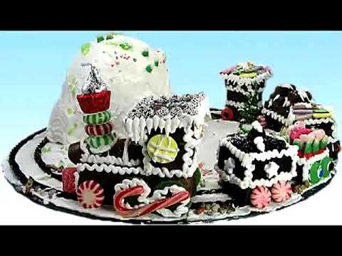 Holiday Candy Train Christmas Cake Decorating Video Tutorial Part 11