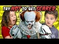 Kids React To Try Not To Get Scared Challenge mp3