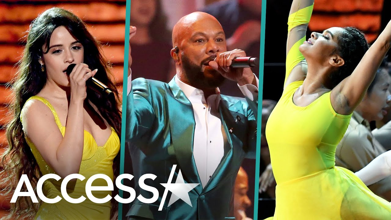 Camila Cabello, Common, Misty Copeland & More Team Up For Dance-Filled Grammys Performance