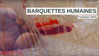 Barquettes de viande humaine pour la 4ème Edition de la Marche pour la fermeture des abattoirs