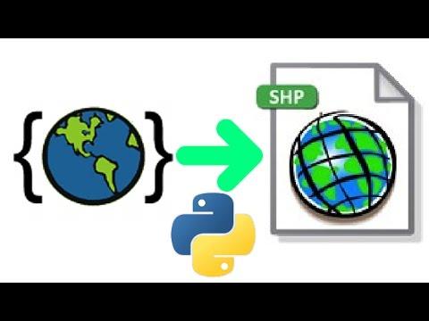 GeoJSON to SHP with Python/pyshp