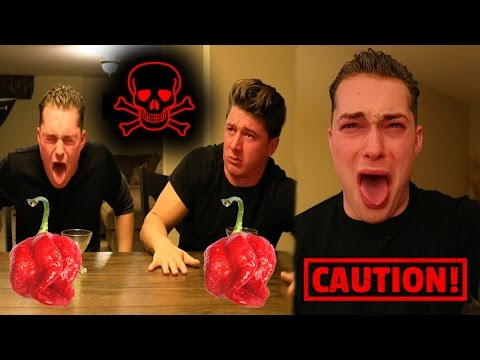 DRINKING 12 BOTTLES OF THE HOTTEST HOT SAUCE! *DO NOT TRY*