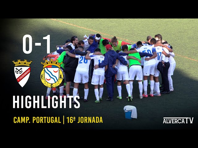 1º Dezembro 0-1 FC Alverca Highlights