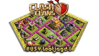 Let's play Clash Of Clans #059 - Lootjagd I [Deutsch / German][LP iOS IPhone]