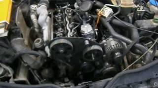 Замена ремня ГРМ в 1 9 TDI VW Passat B5