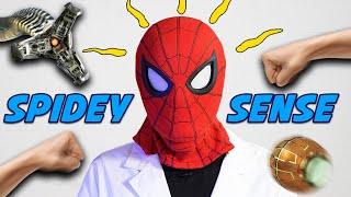 Spiderman Mask + LiDAR = Superpowers! (Real Life Spidey-Sense!)