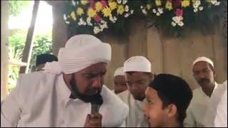Suara Emas Cucu Habib Syech Assegaf Di Saat Bersolawat