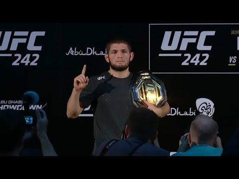 UFC 242: Post-fight Press Conference