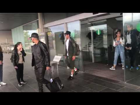 Download Neymar jr arriving from London