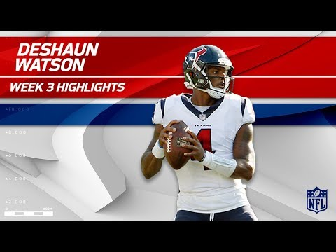 Deshaun Watson Highlights vs. New England | Texans vs. Patriots | Wk 3 Player Highlights