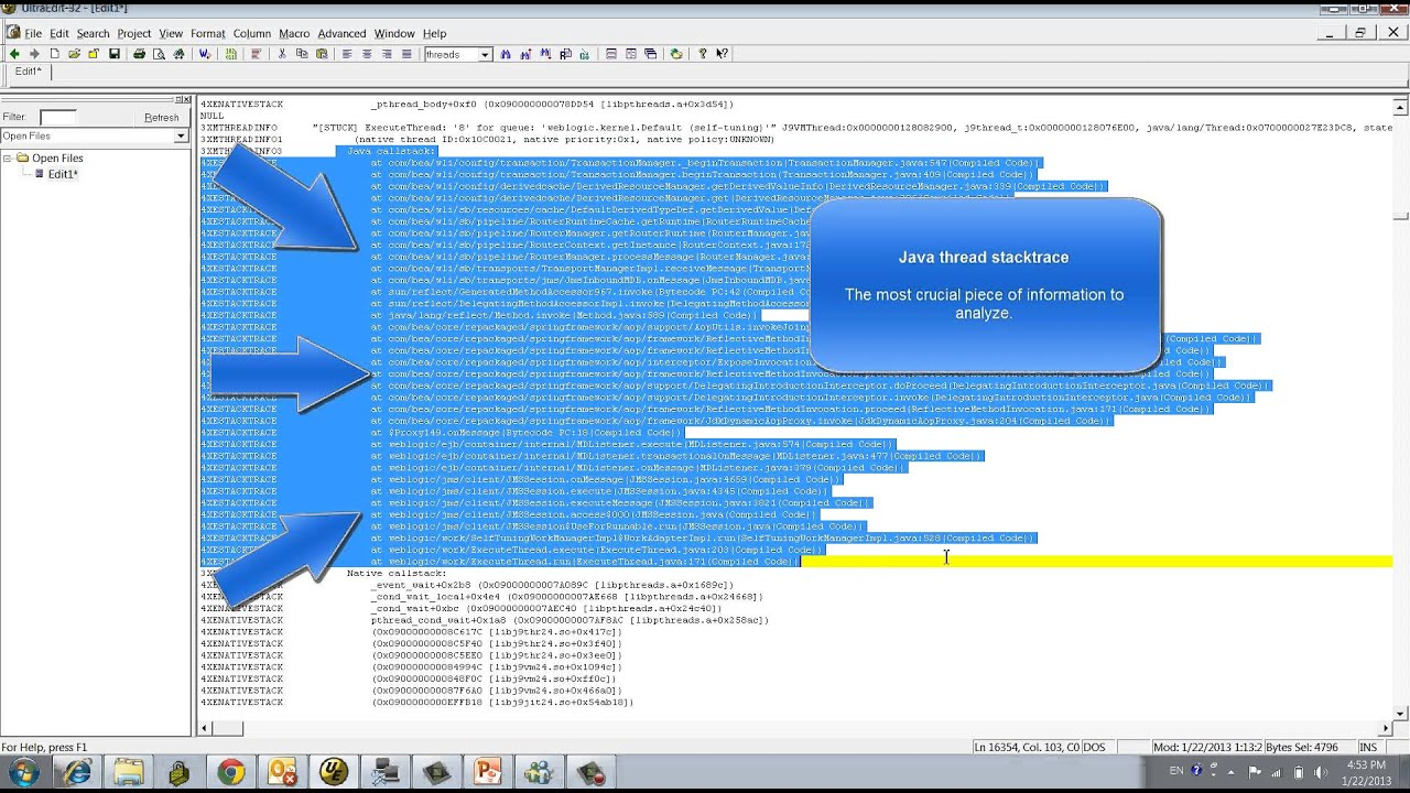 Thread Dump Analysis for IBM JVM - Part1
