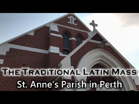 The Traditional Latin Mass - St. Anne's Parish | Fri, Mar. 26, 2021