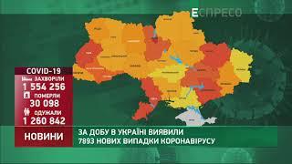 Коронавірус в Украі ні статистика за 22 березня
