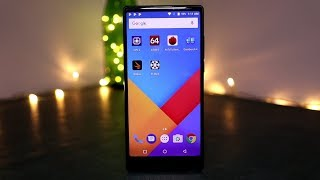Vernee Mix 2 Unboxing and hands on - 18:9 Screen and Dual Cameras