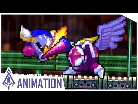 [Flash Animation] Meta Knight vs Galacta Knight