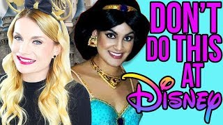 WHAT TO SAY TO CHARACTERS AT DISNEY | 5 THINGS NOT TO SAY FROM A RETIRED DISNEY PRINCESS
