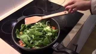 Vegetarian Cooking Lesson 3 - Stir Fry Rainbow