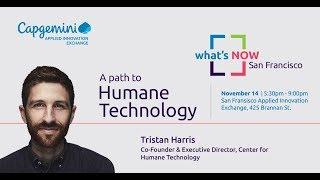 What's Now San Francisco with Tristan Harris
