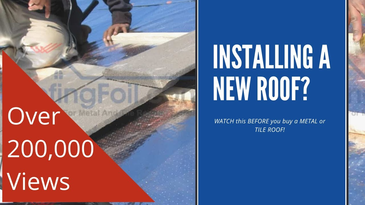 Roofingfoil Watch This Before You Buy A Metal Or Tile
