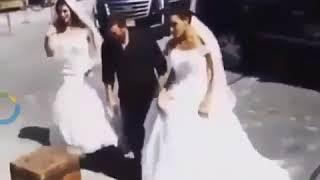 زفة مميزة للقيصر كاظم الساهر في دبي وهذا ما غناه لعروسه