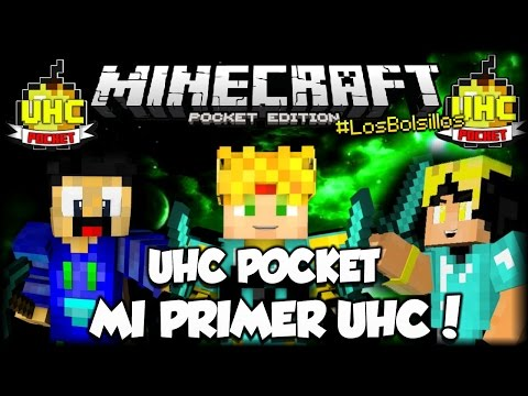 MI PRIMER UHC! - #UHCPocket - #LosBolsillos - con Yellowy Coder y DozenStamine - Minecraft PE
