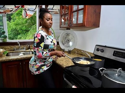 IN THE KITCHEN: Yanique does jerk salmon and shrimp potato salad
