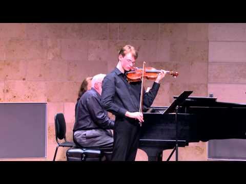 Kenneth Renshaw plays Schubert Sonata in A Major