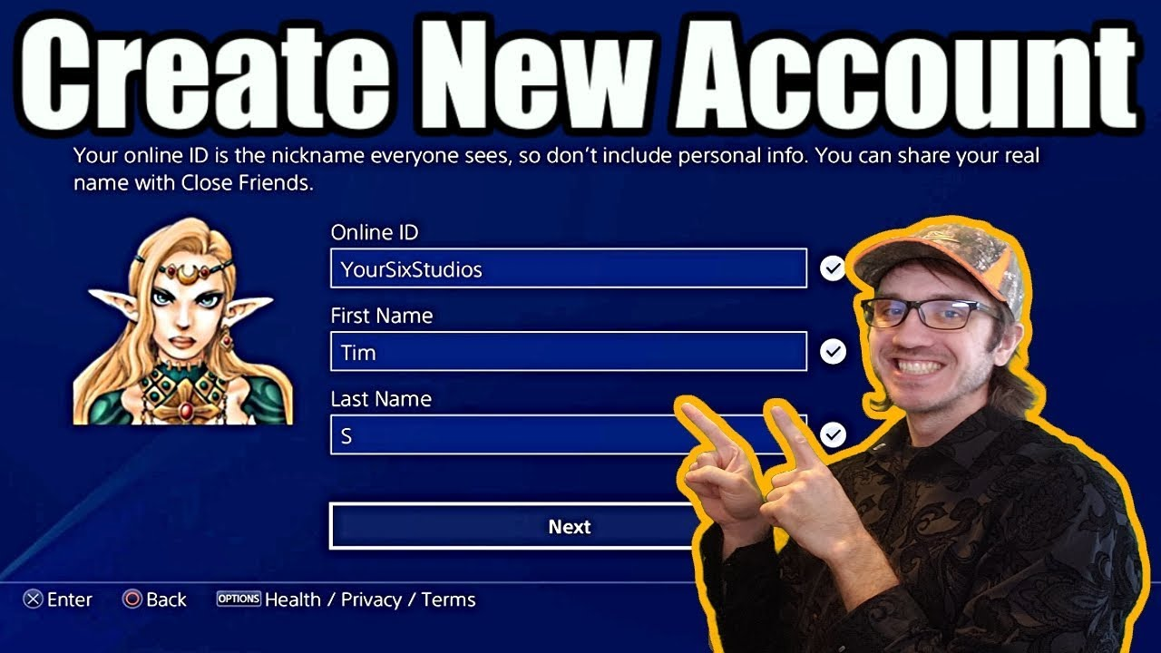 *NEW* How to Create A PSN ACCOUNT on PS4! + Free Trial Info (Tutorial 2019)