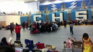 2011 Rio Rancho Public School PowWow - Zotigh Singers Gourd Dance