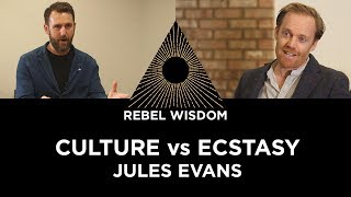 Culture vs Ecstasy, Jules Evans
