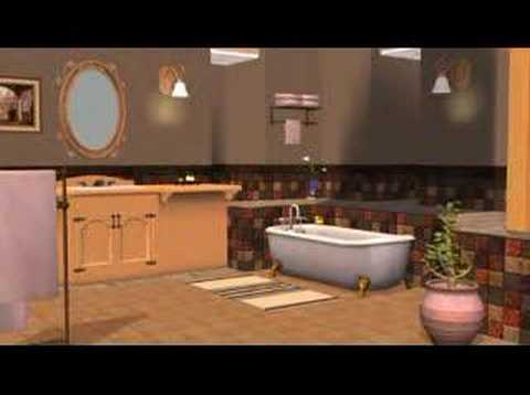 Sims 2 Kitchen U0026 Bathroom Stuff   Trailer 3