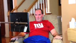 Dad With Als Nominates Eli Manning For Ice Bucket Challenge