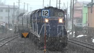 DD51+24系 寝台特急トワイライトエクスプレス(回送) 洞爺(H41)到着