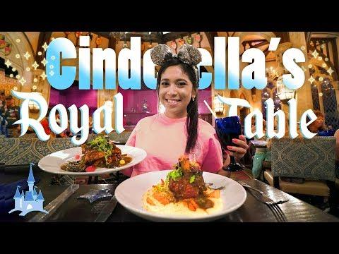 Cinderella's Royal Table MAGICAL Fine Dining at the Magic Kingdom   Walt Disney World