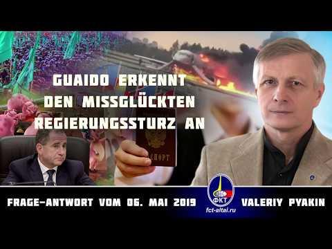 Guaido erkennt den missglückten Regierungssturz an (2019.05.06 Valeriy Pyakin)