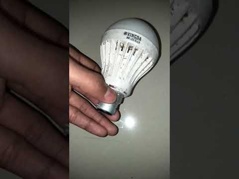 Clean LED bulb