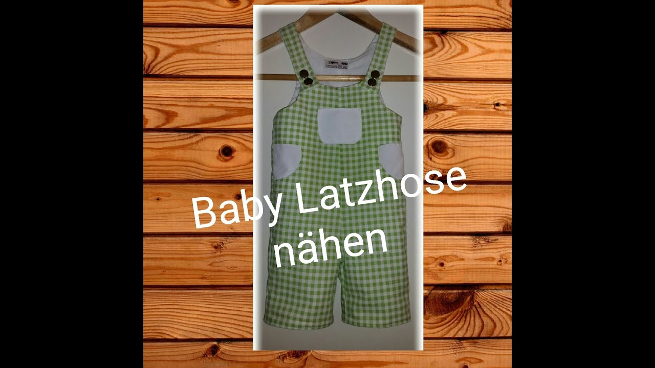 baby latzhose n hen schnittmuster jetzt kostenlos youtube. Black Bedroom Furniture Sets. Home Design Ideas