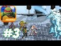 TMNT: Portal Power - Gameplay Walkthrough Part 3 - Frost World (iOS, Android, PC)