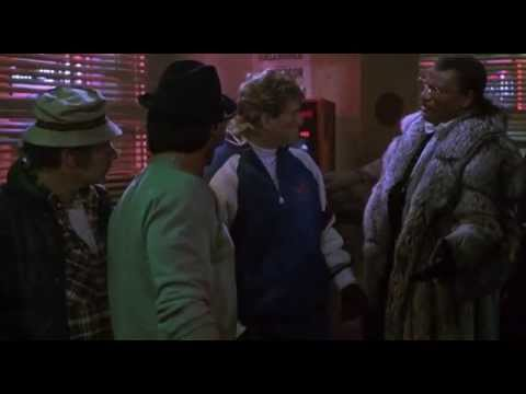 Rocky V - Tommy Challenges Rocky (1990) - YouTube