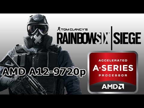 Tom Clancy's Rainbow Six Siege on AMD R7 M440