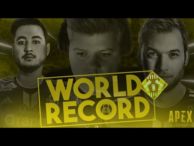 ON EXPLOSE LE WORLD RECORD SUR APEX LEGENDS !? Feat. Gotaga & Alphacast