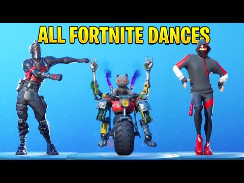 ALL FORTNITE DANCES | Season 1 - 13 (Chapter 2 Season 3)