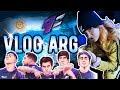 Fui a ver a 9z CAMPEÓN 🔥 | Vlog Argentina 🇦🇷 💥