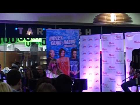 Delta Goodrem Tea Tree Plaza Full Performance (10-8-2012)