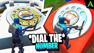 Dial the Durrr Burger Number / Pizza Pit Number - LOCATIILE *WEEK 8* IN FORTNITE!
