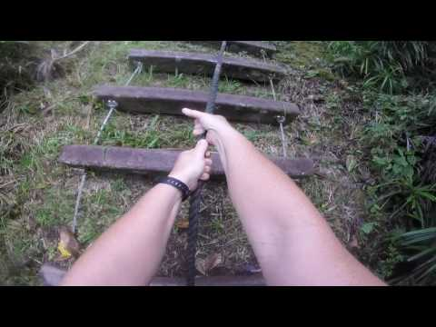 American Samoa National Park Ropes and Ladders trail
